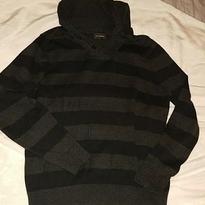 Express hooded sweater